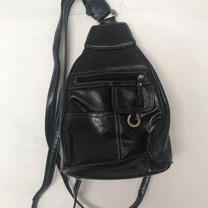 Handbags - Black Backpack Purse